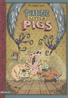 The Three Little Pigs By Trumbauer, Lisa (RTL)/ Blecha, Aaron (ILT)